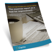The expense report as a tool for improvement