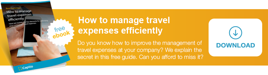 "Download the guide ""How to manage travel expenses efficiently"""