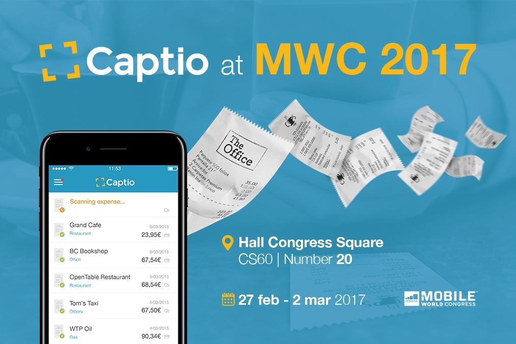 Captio at Mobile World Congress 2017