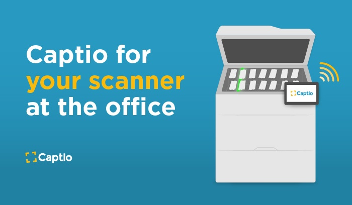 Introducing Captio for your scanner at the office