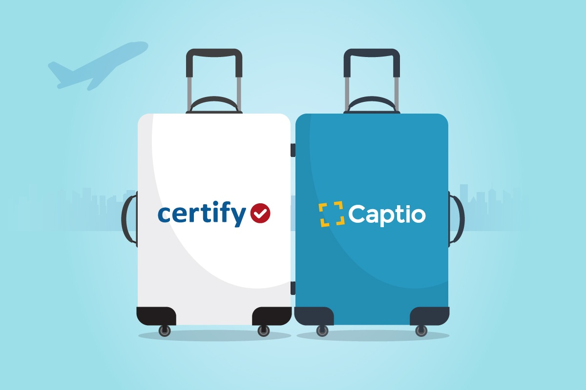 Captio and Certify join forces