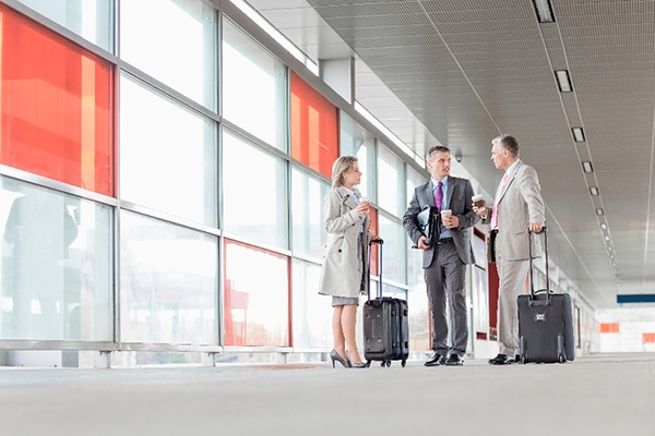 Business traveller, protect your data efficiently